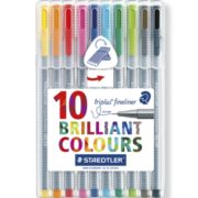 Steadtler Staedler steadler steatler staetler Steatdler Triplus® Fineliner 334 New Zealand Official 10 pack