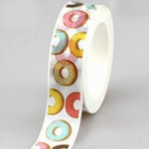 Washi Tape NZ JJ-W-195 donuts for diets