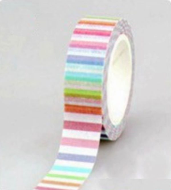 Washi Tape NZ JJ-W-194 Pastel Stripes