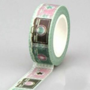 Washi Tape NZ JJ-W-192 Pose for the Camera