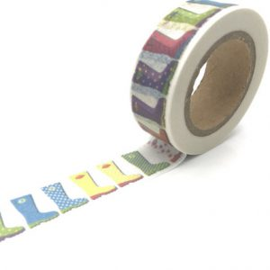 Medium Picture Washi Tape Bullet Journal NZ Gum Boots