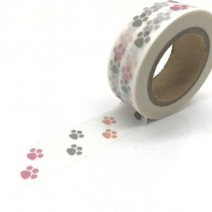 Medium Picture Washi Tape Bullet Journal NZ Paw Prints