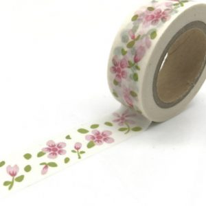 Medium Picture Washi Tape Bullet Journal NZ flower crepe FlowersMedium Picture Washi Tape Bullet Journal NZ flower crepe Flowers