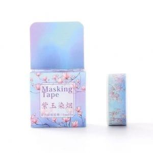 Medium washi Tape bullet journal paper crafts new zealand blossom against the sky