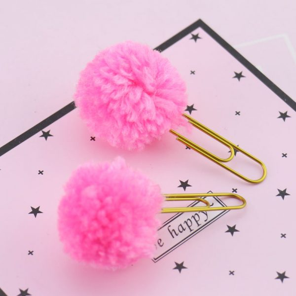 Pom Pom planner clips bullet journal accessories feature photo 3