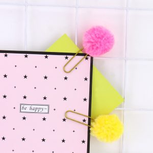 Pom Pom planner clips bullet journal accessories feature photo
