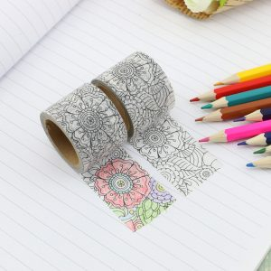 Washi Tape Bullet Journal New Zealand JJ-W-266 colour me washi fabulous florals
