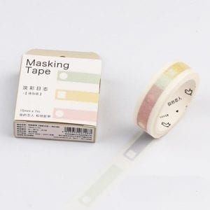 medium washi tape bullet journal new zealand planner pastel headers