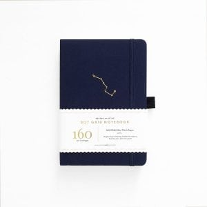Buy Archer and olive dotted notebook new zealand night sky cover product
