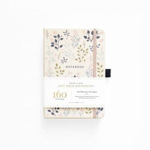 buy Archer and olive dotted notebook new zealand pink flowers product