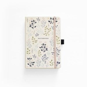 buy Archer and olive dotted notebook new zealand pink flowers cover 2