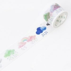 Buy Wide Washi Tape Bullet Journal NEw Zealand Watercolour weather