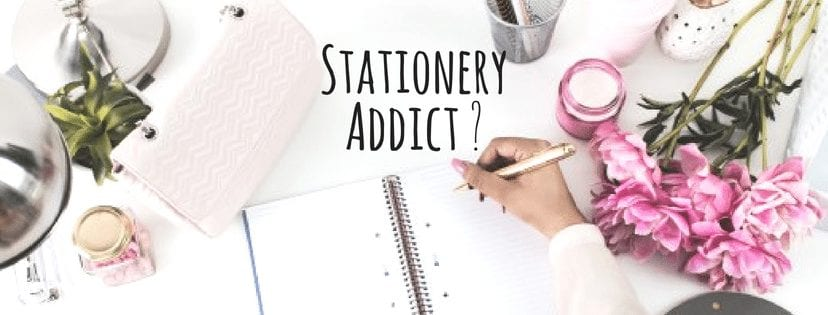 Stationery addict join the club banner