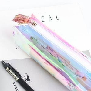Iridescent Clear Case bullet journalling supplies