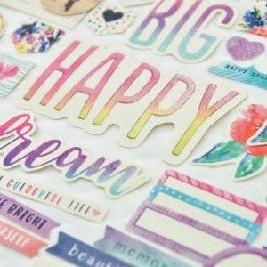 Journal stickers planner stickers shapes scrapbooking for bullet journalling scrapbooking wonderful day 3