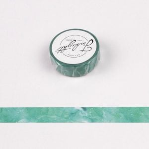 Medium Washi Tape Bullet Journal NEw Zealand Emerald Marble