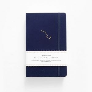 Night Sky Archer & Olive dotted notebook journal new zealand australia