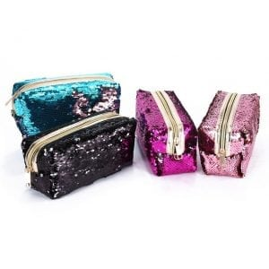 Sequins sparkle pencil cases cute stationery new zealand