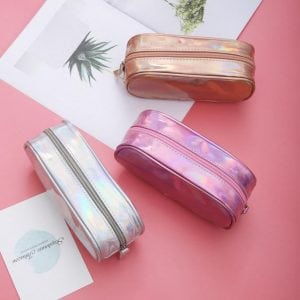 shine on large iridescent pencil case bullet journal supplies new zealand australia cover