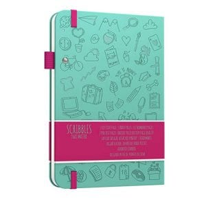 Scribbles That Matter Dotted Notebook Iconic Version Mint backside