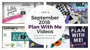 Journal Junkies September 2018 Plan With Me Best Bullet Journal videos cover