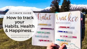 The Ultimate Guide To Habit Trackers in your Bullet Journal