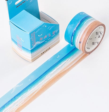 #beachlife wide washi tape bullet journal nz