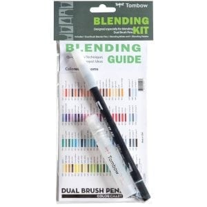 tombow dual brush pen blending kit buy nz