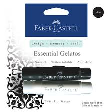 Faber-Castell Gelatos Buy Bullet Journal Supplies Black And White