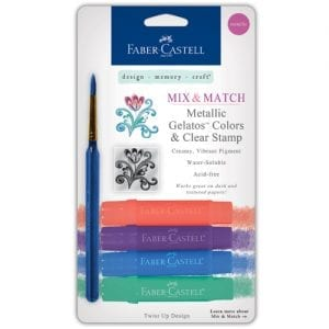 Faber-Castell Gelatos buy bullet journal supplies 4 pack Metallic Set