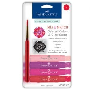 Faber-Castell Gelatos buy bullet journal supplies 4 pack Red Set