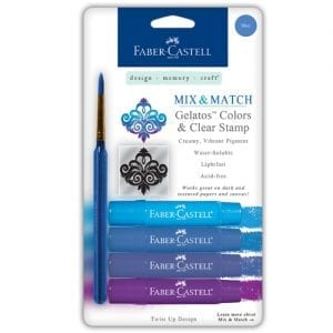 Faber-Castell Gelatos buy bullet journal supplies 4 pack blue set