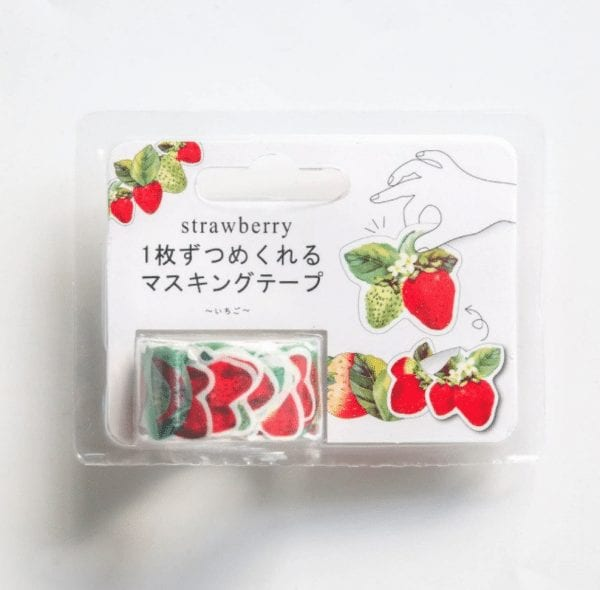 succulent strawberries planner washi tape stickers new zealand