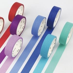 Medium Washi Tape Solid Colours