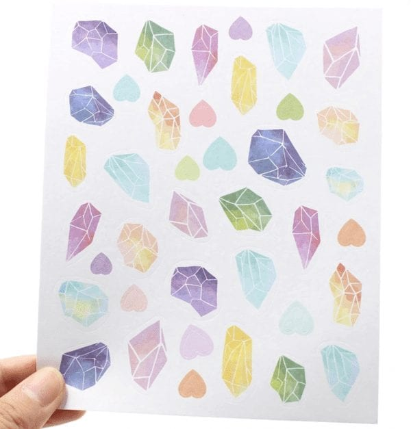 Power of productivity decorative planner stickers for bullet journals new zealand crystals