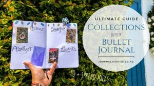 ultimate guide to collections in your bullet journal 10+ ideas and spread layouts