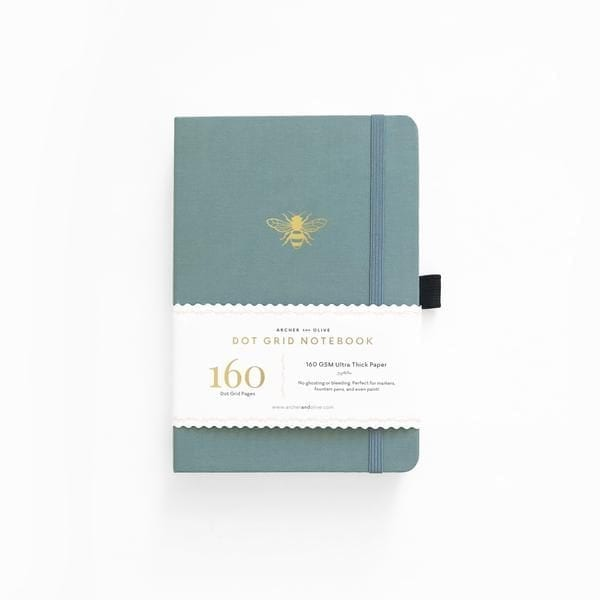 archer and olive vintage bee dotted bullet journal buy new zealand australia