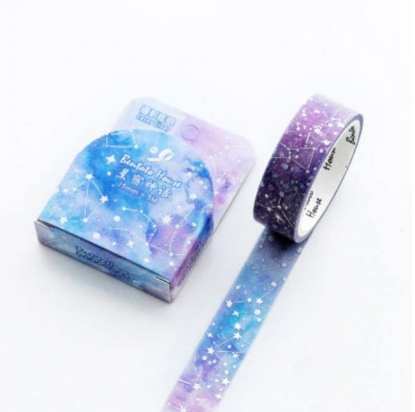 connect the stars medium washi tape bullet journal new zealand (1 of 2)