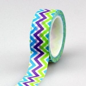 cool chevron medium washi tape bullet journal decoration