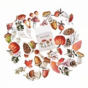 fall for fall planner stickers bullet journal decoration fall pack