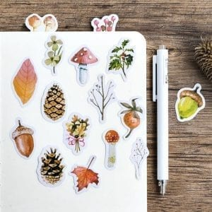 fall for fall planner stickers bullet journal decoration fall pack example 2