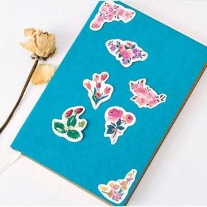 floral fittings planner stickers bullet journal decoration fall pack example 1