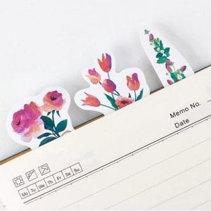 floral fittings planner stickers bullet journal decoration fall pack example 2