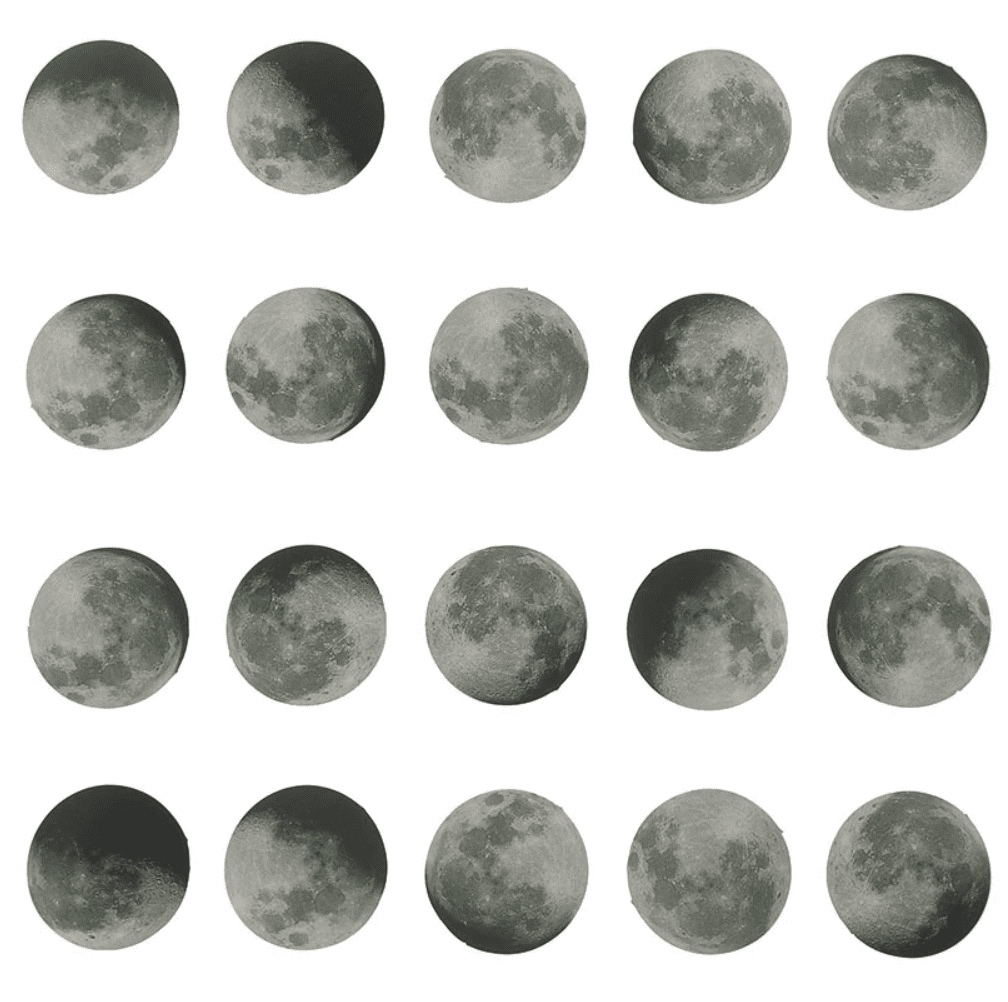 image regarding Printable Moon Phases identified as simply a action planner stickers bullet magazine decoration moon