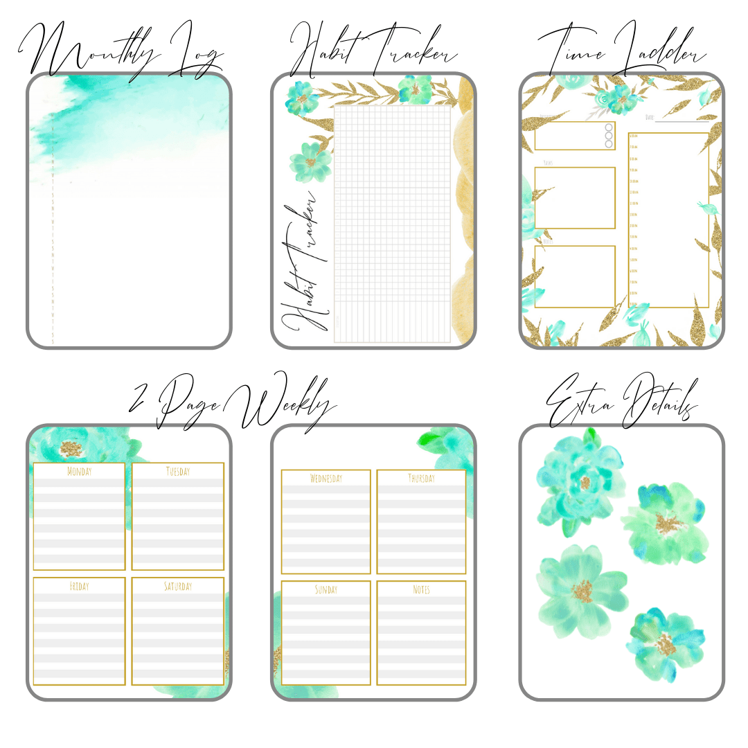 image regarding Bullet Journal Printable named Clean Commences Offer PDF Obtain Printable