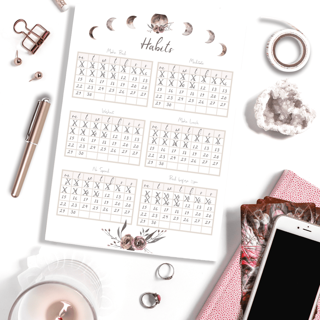 Stay Wild April 2019 Bullet Journal Planner Bundle | PDF Download &  Printable