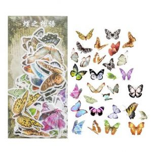 Better Butterflies decorative planner stickers new zealand