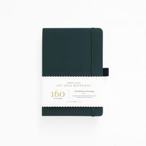Archer and olive A5 dot grid bullet journal deep green