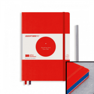 Red Bauhaus Special Edition Leuchtturm 1917 dotted a5 notebook