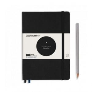 BAUHAUS dotted bullet journal new zealand leuchturm black